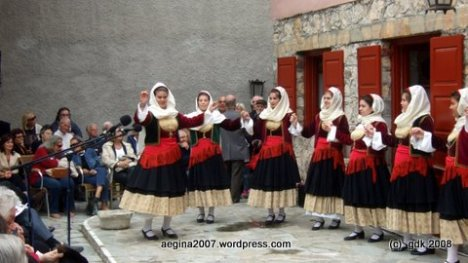 Χορευτικό Συλλόγου Γυναικών Αίγινας
